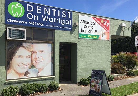 Dentist On Warrigal Cheltenham dentist Cheltenham Dental Clinic Entrance