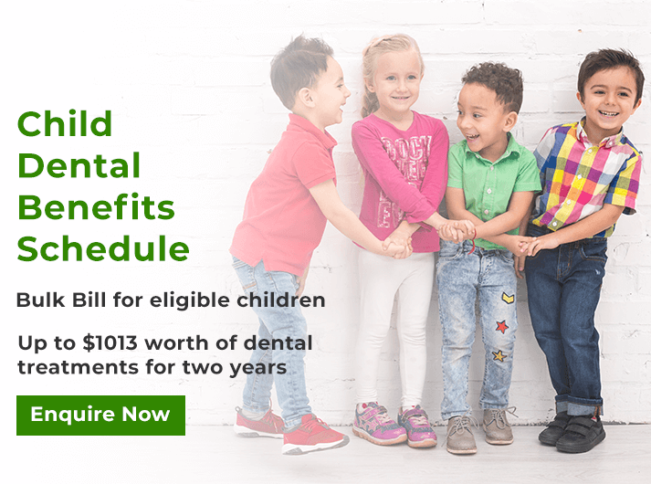 child dental benefits schedule banner cheltenham