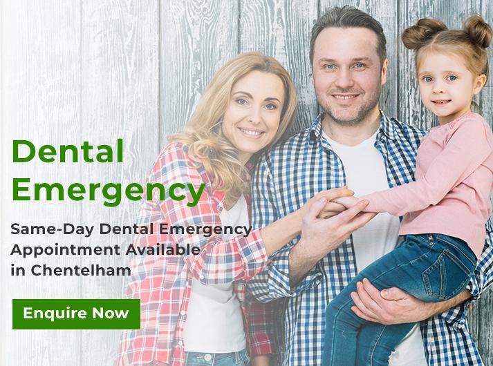 dental emergency banner chentelham