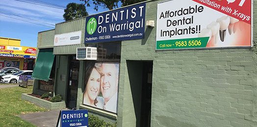 See your Cheltenham dentist at least two times a year