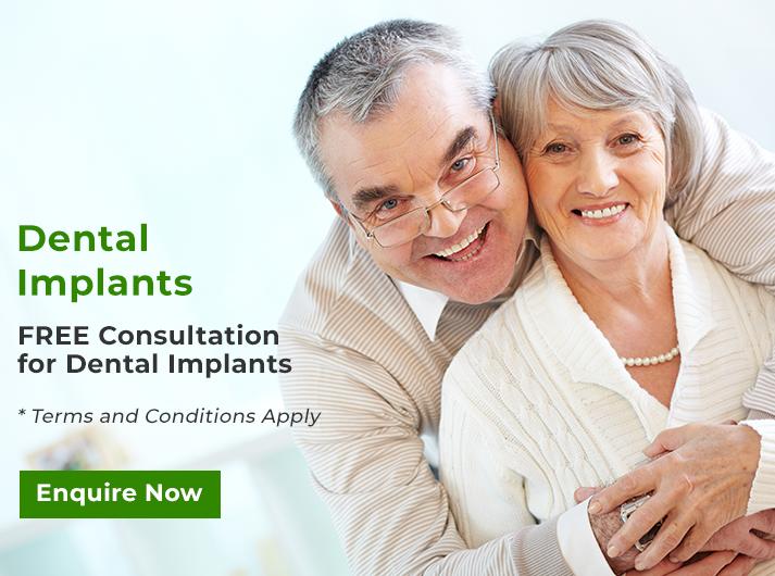 free consultation for dental implants banner cheltenham