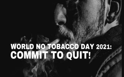 World No Tobacco Day 2021 in Cheltenham: Commit to Quit!